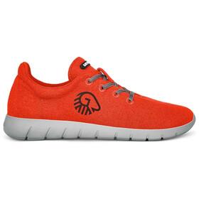 Giesswein Merino Wool Runners Hombre, neon orange
